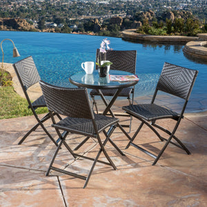 Eero Pe / Iron 5Pc Bistro Set