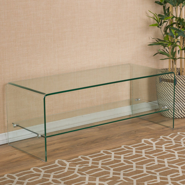 Barnwell Tempe Glass Tv Stand