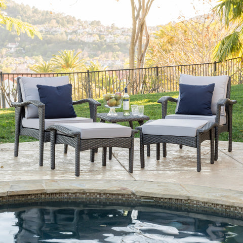 Holloway 5 Piece Chat Set
