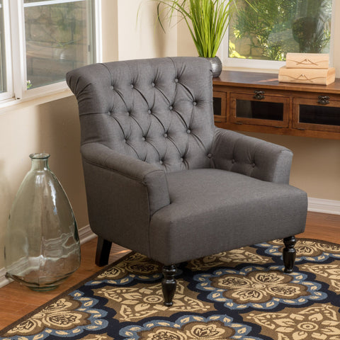 Bursaw Fabric Club Chair