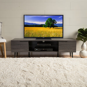 Rotalle Finished Wood Tv Stand