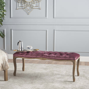 Taquile Tufted Bench