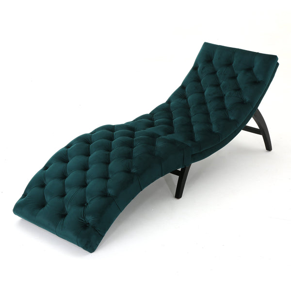 Gardenia Tufted Chaise Lounge