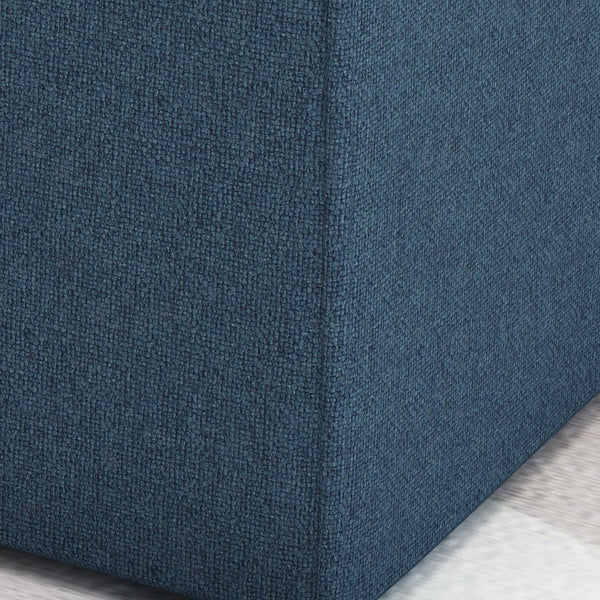 Kenneth Fabric Square Ottoman