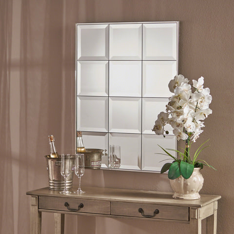 Belvidere Rectangular Tile-Like Wall Mirror