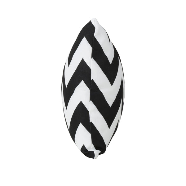 Marina Outdoor And Chevron Water Resistant Rectangular Throw Pillow