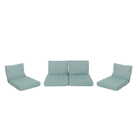 Pena Outdoor Patio Cushions for Club Chairs & Love Seat