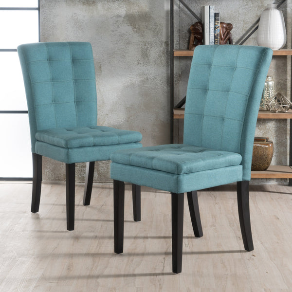 Azzura Fabric Dining Chair (Set Of 2)