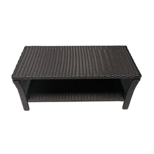 Spencer Outdoor Wicker Coffee Table