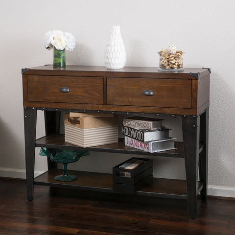 Bonnie Ash Veener Console Table