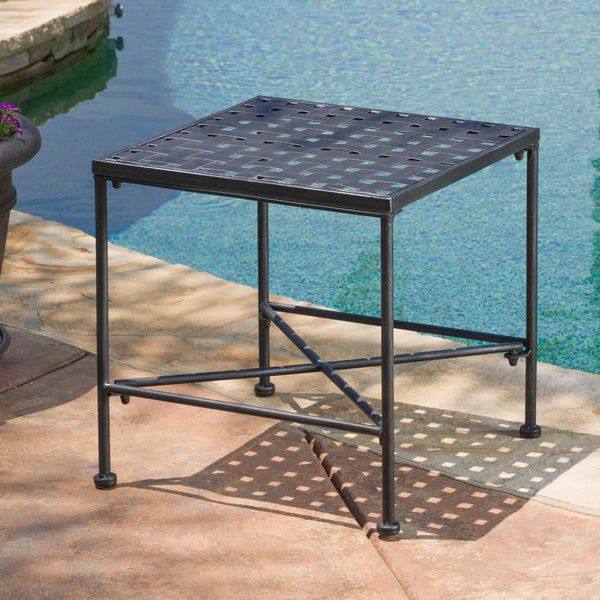 Perley Iron End Table
