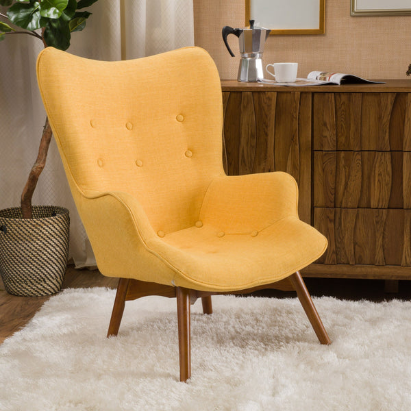 Harbor Fabric Contour Chair