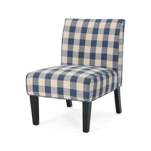 Karen Traditional Upholstered Farmhouse Accent Chair