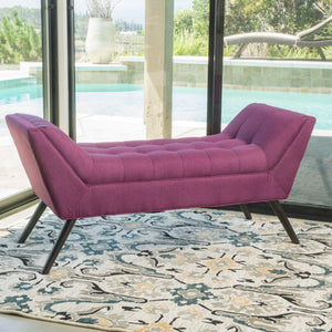Delphine Deep Fabric Bench