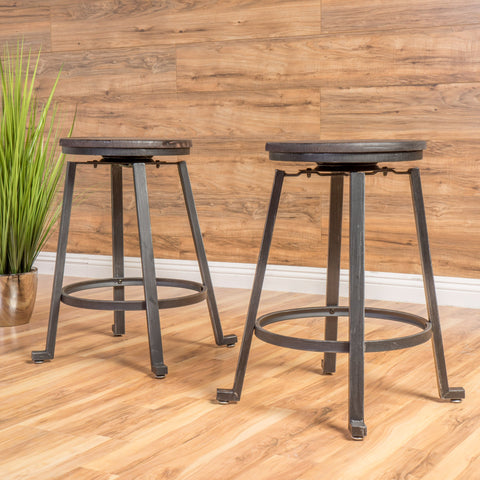 Loek With Firwood Counter Stool