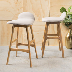 Amman Fabric Barstool (Set Of 2)
