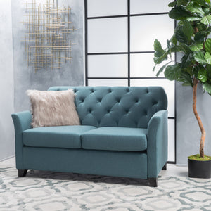 Jeremy Fabric Loveseat