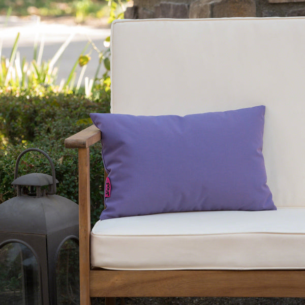 Lola Outdoor Water Resistant Tasseled Rectangular Pillow