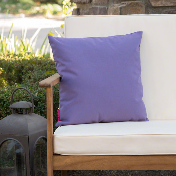Lola Outdoor Water Resistant Tasseled Square Pillow