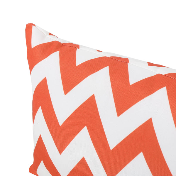 Eponine Indoor Zig Zag Water Resistant Rectangular Throw Pillows