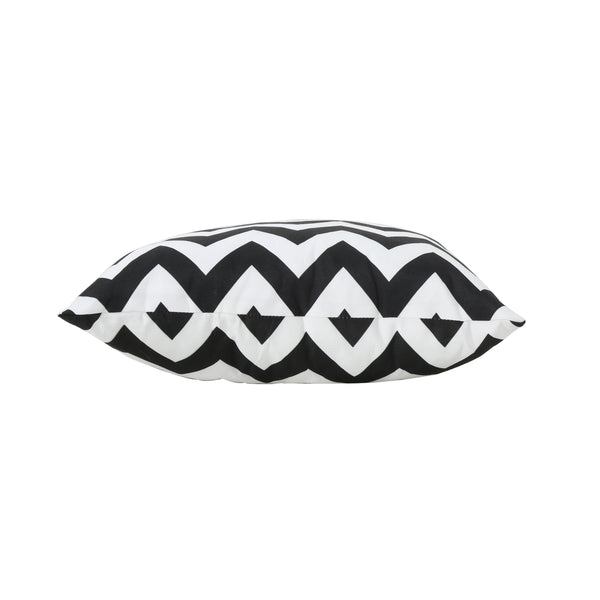 Marina Outdoor And Chevron Water Resistant Square Throw Pillow