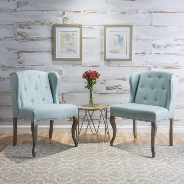 Newton Fabric Chair (Set Of 2)