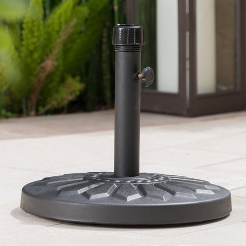 Loulu 28Lbs Steel Round Umbrella Base