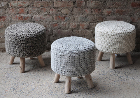 Molokai Fabric Stool