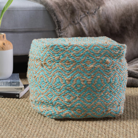 Pratchett Fabric Pouf