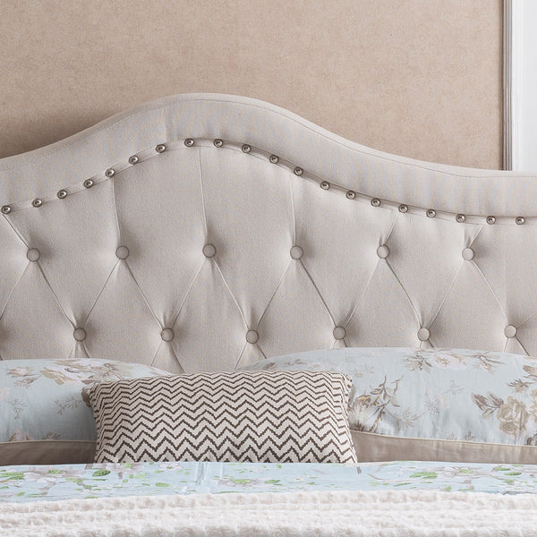 Danica Fully Upholstered Queen Bed Set