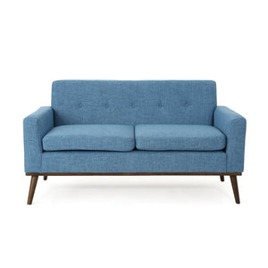 Stephani Mid Century Modern Fabric Sofa