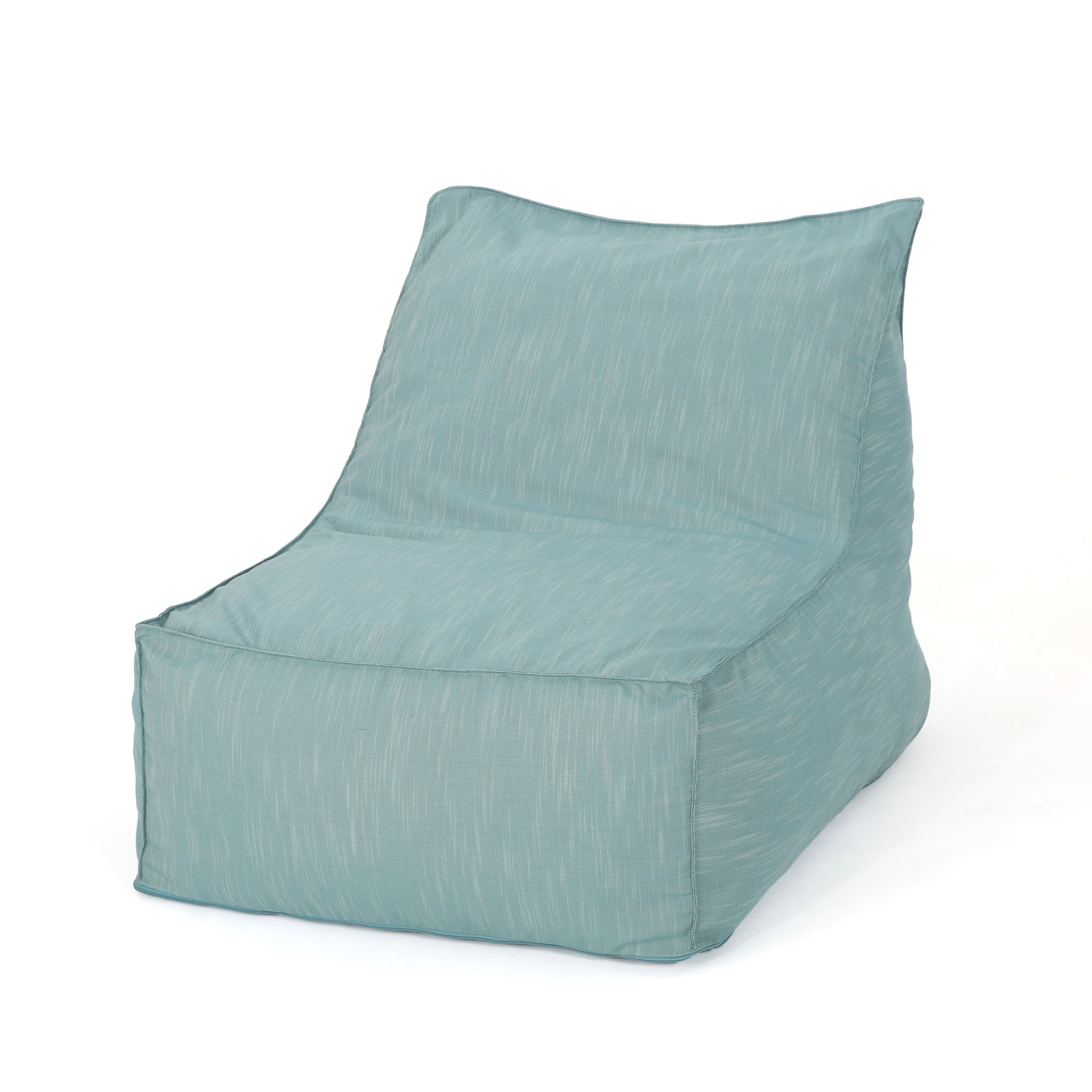 3 Ft Water Resistant Fabric Indoor Bean Bag Chair | Color: Blue, Color: Teal