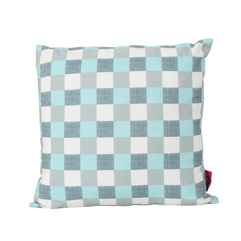 Isla Indoor And Plaid Water Resistant Square Throw Pillow