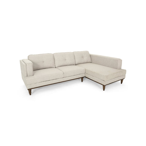 Holdame Chaise Sectional Couch Set With Chaise Lounge