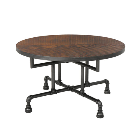Westdale Industrial Faux Wood Coffee Table