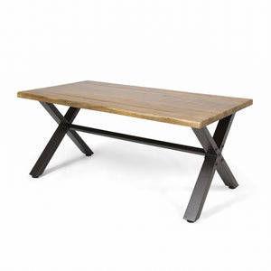 Sanders Outdoor Acacia Wood Coffee Table