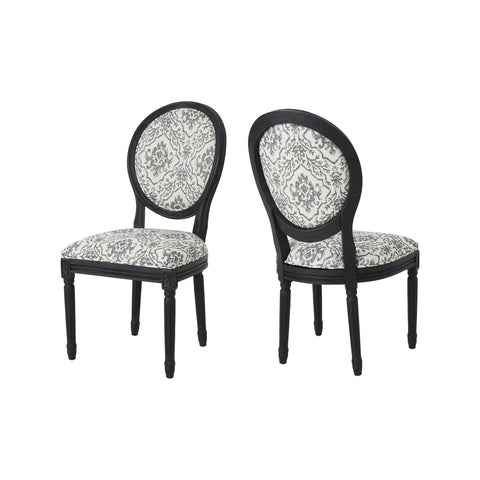 Hillgate Traditional Fabric Dining Chairs