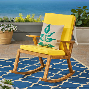 Chadney Patio Rocking Chair