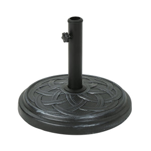 Kettering Outdoor 33Lb Concrete Circular Umbrella Base