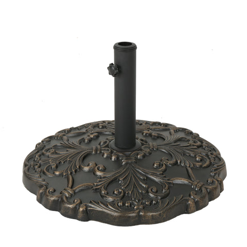 Clementine Outdoor 66Lb Concrete Circular Umbrella Base