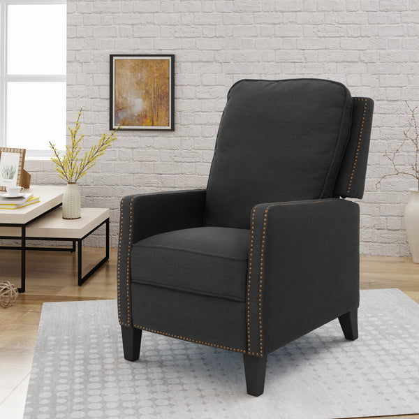 Cayla Traditional Fabric Recliner