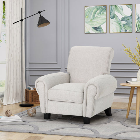 Degarmo Traditional Upholstered Pushback Recliner