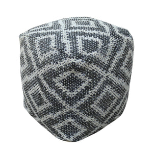 Cullen Boho Rubber And Yarn Pouf