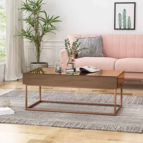 Talbot Mirrored Coffee Table