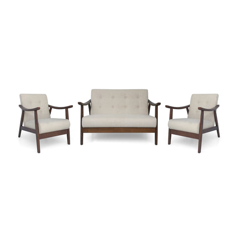 Gilbert Mid-Century Modern Chat Set