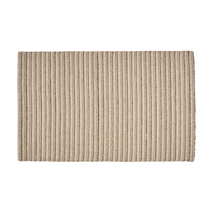 Cagny Modern Wool Area Rug | Color: White