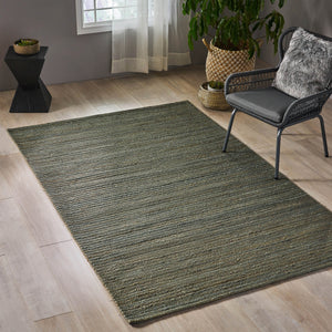 Ebany Transitional Hemp Area Rug | Color: Natural