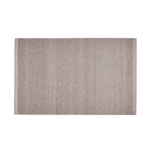 Hastings Modern Blended Wool And Viscose Area Rug | Color: Brown