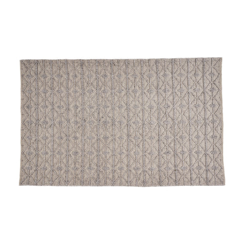 Franco Transitional Fabric Area Rug | Color: Gray