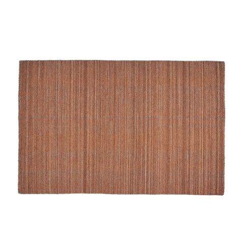 Heminger Boho Wool Area Rug | Color: Brown, Color: Dark Taupe